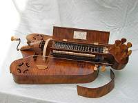 Custom Hurdy Gurdy based on a Callot print dated c1623